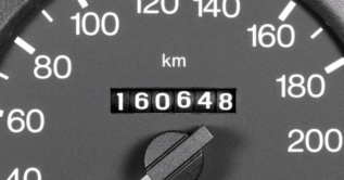 Kilometers via CAN-bus, GPS of pulsen